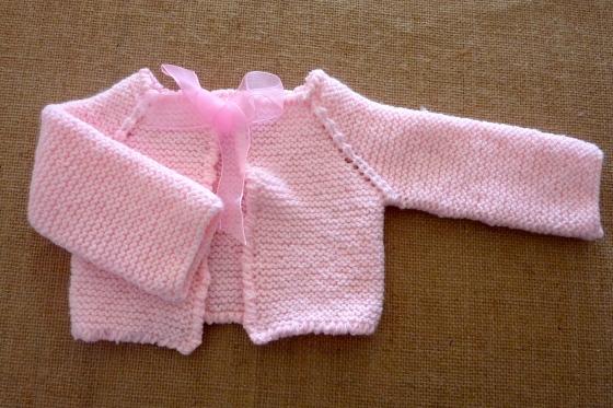 casaquinho rosa