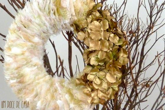Coroa natal flores I