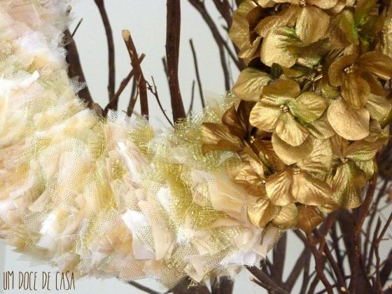 Coroa natal flores II