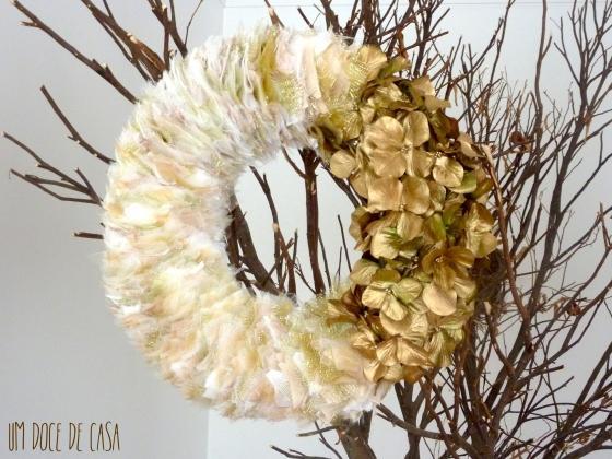 Coroa natal flores
